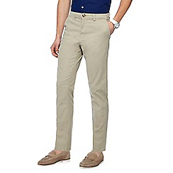 Red Herring - Dark cream straight fit chinos