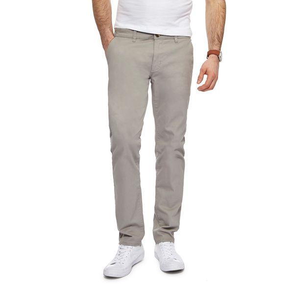 Light skinny grey fit chinos Herring Red 1nSxqBw
