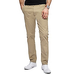 Red Herring - Natural skinny fit chinos