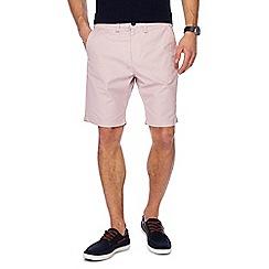 Red Herring - Pink regular fit chino shorts