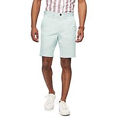Red Herring - Pale green chino shorts