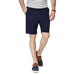 Red Herring - Navy chino shorts