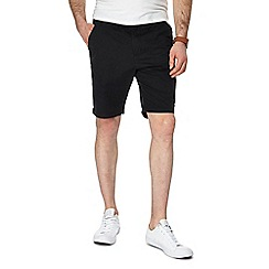 Red Herring - Black chino shorts