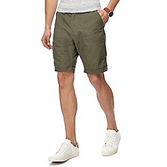 Red Herring - Khaki chino shorts