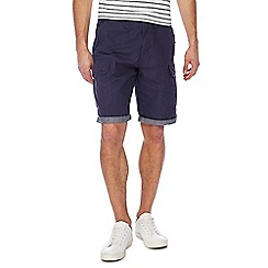 Red Herring - Navy beach cargo shorts