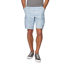 Red Herring - Light blue regular fit cargo shorts