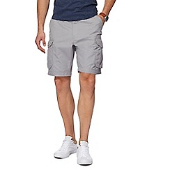 Red Herring - Light grey cargo shorts