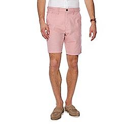 Red Herring - Pink stripe chino shorts