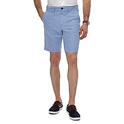Red Herring - Blue stripe chino shorts