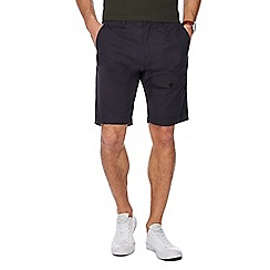 Red Herring - Navy regular fit chino shorts
