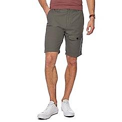 Red Herring - Khaki regular fit chino shorts