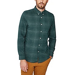 Red Herring - Green check print slim fit shirt