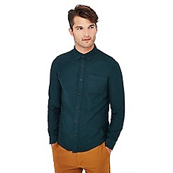 Red Herring - Green long sleeve slim fit shirt