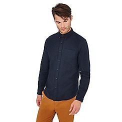 452344d7957b Red Herring - Big and tall blue long sleeve slim fit shirt