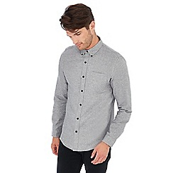 Red Herring - Grey long sleeve slim fit shirt