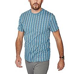 Red Herring - Blue vertical stripe slim fit t-shirt