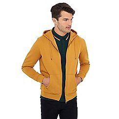 Red Herring - Mustard zip through hoodie