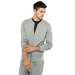 Red Herring - Grey baseball cotton rich jacket