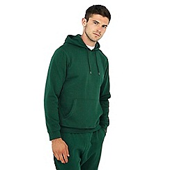 Red Herring - Dark green cotton rich hoodie