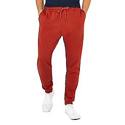 Red Herring - Big and tall dark orange jogging bottoms