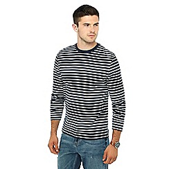 Red Herring - Navy striped top