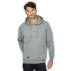 Threadbare - Grey embossed 'NYC' hoodie