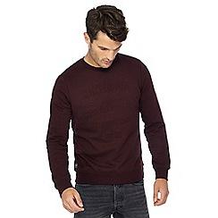 Threadbare - Purple embossed sweater