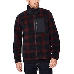 Red Herring - Red check borg jacket