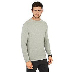 Red Herring - Grey link knit crew neck jumper