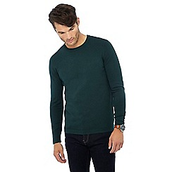 Red Herring - Dark green crew neck jumper