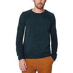 Red Herring - Green chenille jumper