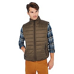 Red Herring - Khaki padded gilet