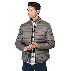 Red Herring - Grey 'Anytime Anywhere'  puffer jacket