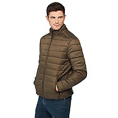 Red Herring - Big and tall khaki padded jacket
