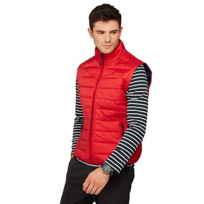 Red Herring Red Padded Gilet