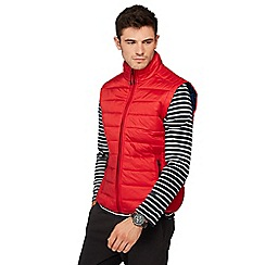 Red Herring - Red padded gilet