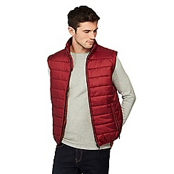 Red Herring - Maroon padded gilet
