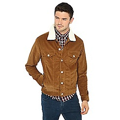 Red Herring - Tan corduroy jacket