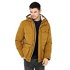 Red Herring - Big and tall mustard padded jacket