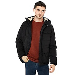 Red Herring - Black padded jacket