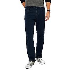 Red Herring - Dark blue dark wash straight fit jeans