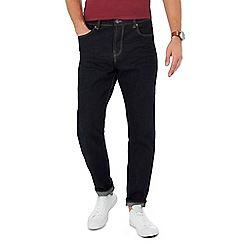 Red Herring - Dark blue dark wash tapered jeans