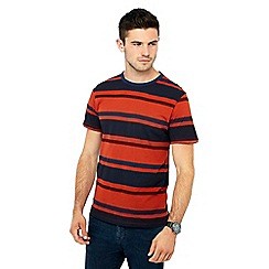 Red Herring - Dark orange striped t-shirt
