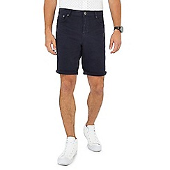 Red Herring - Navy twill shorts
