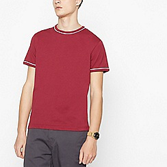 Red Herring - Red Tipped Cotton T-Shirt