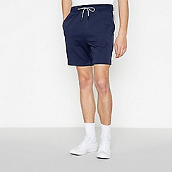 Red Herring - Big and tall navy side stripe shorts