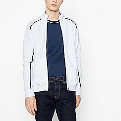 Red Herring - White Piped Trim Track Top