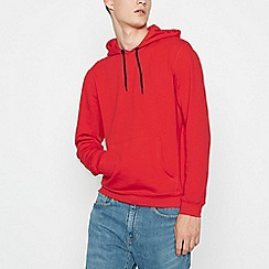 Red Herring - Big and tall red hoodie
