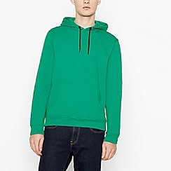 Red Herring - Big and tall bright green hoodie