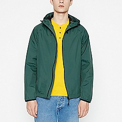 Red Herring - Big and tall green waterproof hooded jacket